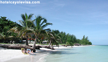 White Sand Beach at Hotel Cayo Levisa
